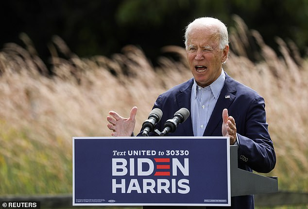 Democratic nominee Joe Biden said Monday that it's President Donald Trump who's threatening American suburbs, thanks to his climate change denial