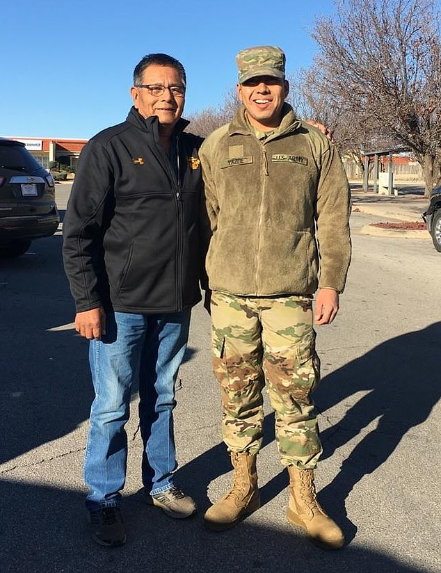 Yazzie's (right) father questioned whether Army negligence played a part in his son's death