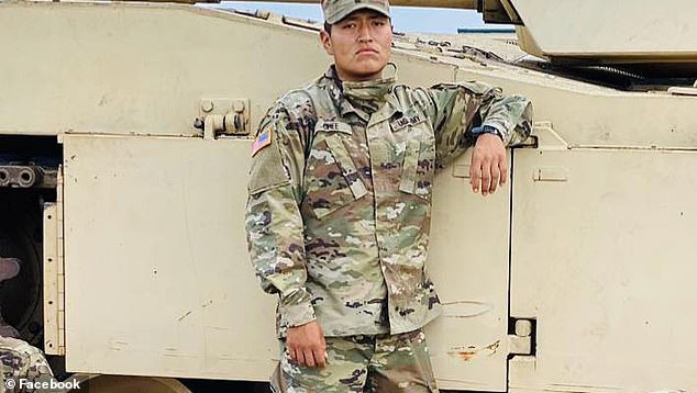 Chee (pictured) died five days after he collapsed during a training exercise. Yazzie died the day after he was hospitalized for a medical condition