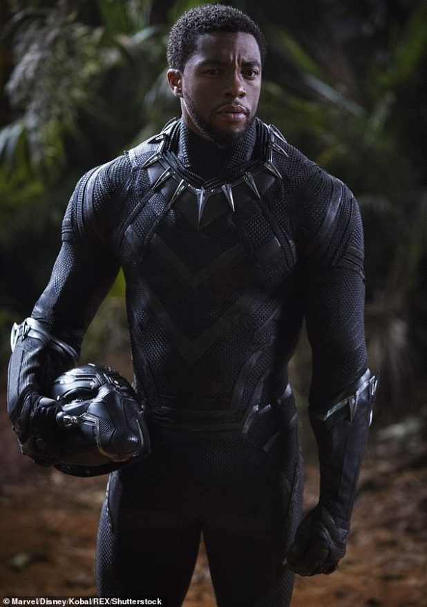 Best in Business: Chadwick was most recently remembered for his inspiring performance as King T'Challa in the 2018 film Black Panther, but he first appeared as a powerful character in the 2016 MCU flick Captain America: Civil War Appeared