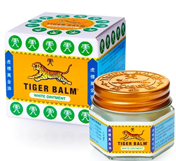 Launched in China back in 1924, tiger balm has been used by generations to ease sore muscles and joints