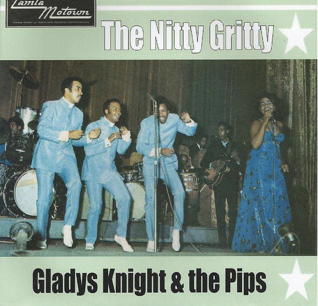 I first heard Nitty Gritty on holiday in Detroit in 1969. It was the title of a hit single by Gladys Knight and The Pips (above) taken from a Motown album of the same name