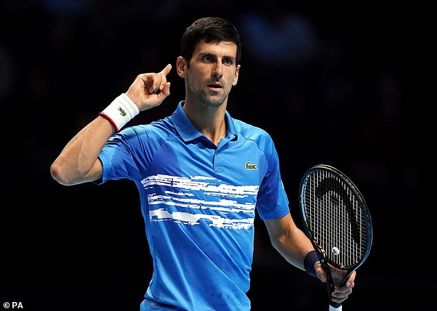 Kyrgios doesn't like world number one Novak Djokovic (pictured) but admits he would bring crowds to the Australian Open