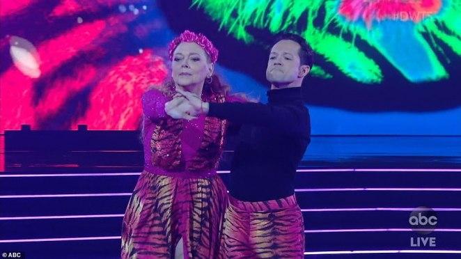 Season premiere: Carole Baskin performed Eye Of The Tiger on Monday with pro partner Pasha Pashkov during the season 29 premiere of Dancing With The Stars on ABC