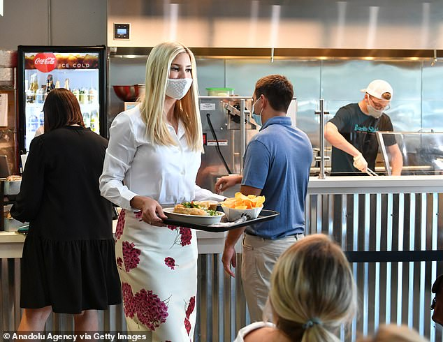 The visit from Ivanka Trump was campaign driven, and one of several stops for her with the election less than two months away
