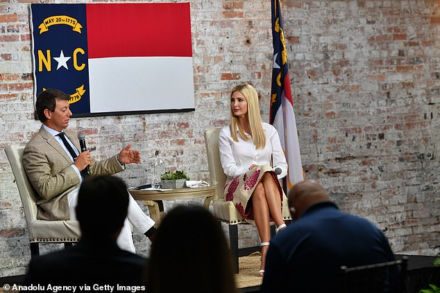 The president's daughter sounded confident of her father's re-election bid