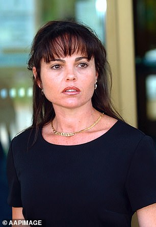 Diamond was cleared of assaulting his former girlfriend Tracey Kennedy (pictured)