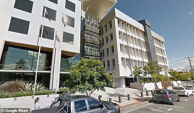 Burgessappeared in Southport Magistrates Court (pictured) on Tuesday and pleaded guilty to common assault and fined $1,000