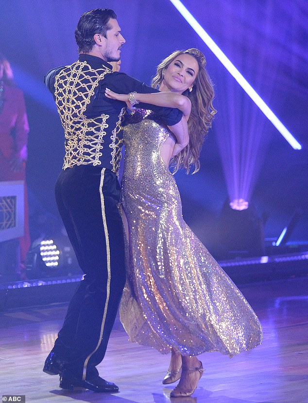 Poor placement: Chrishell Stause, 39, got a lackluster evaluation on Monday's Dancing With The Stars premiere, where her low score put her in the bottom three, which angered some fans