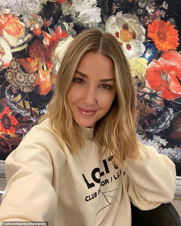 Australian television presenter and fashion stylish Jules Sebastian (pictured) has shared her go-to lamb cutlet dish she cooks on special occasions