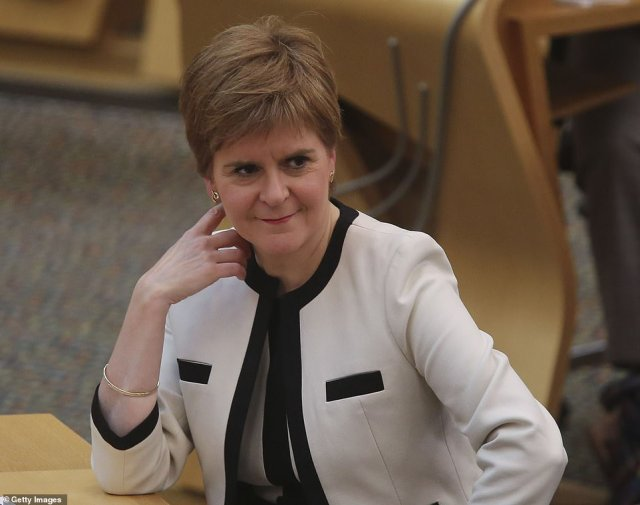 Scotland's First Minister Nicola Sturgeon piled pressure on the Government by claiming the backlog was also affecting Scottish patients