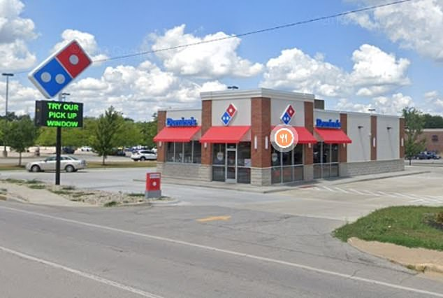 Mr Ungersma worked a second job at a Domino's store on Greenbush Street in Lafayette, which is donating 75 per cent of sales through Friday to his family