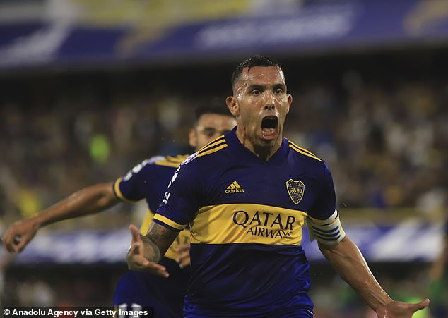 Carlos Tevez is captain of Boca Juniors with the 36-year-old recently extending his contract