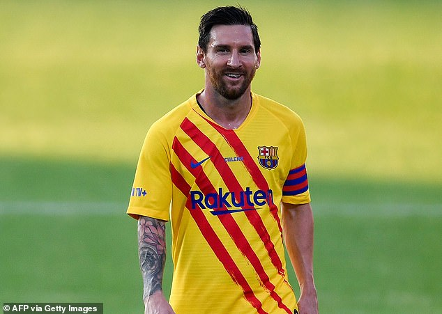 The midfielder said it would have been strange to see captain Lionel Messi in another shirt