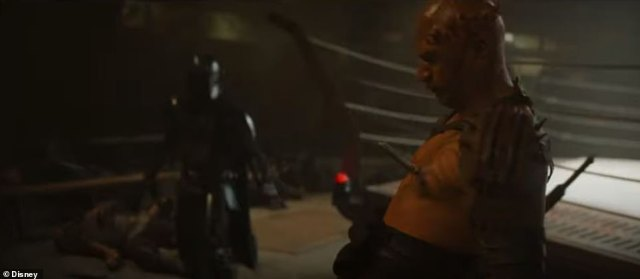 This guy sure got it: The Mandalorian puts a rod through this man's heart at the end of the clip