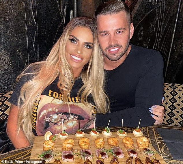 Name change!? Katie Price, 42, now reportedly calls herself 'Katie Woods' after just three months of dating beau Carl Woods, 31,