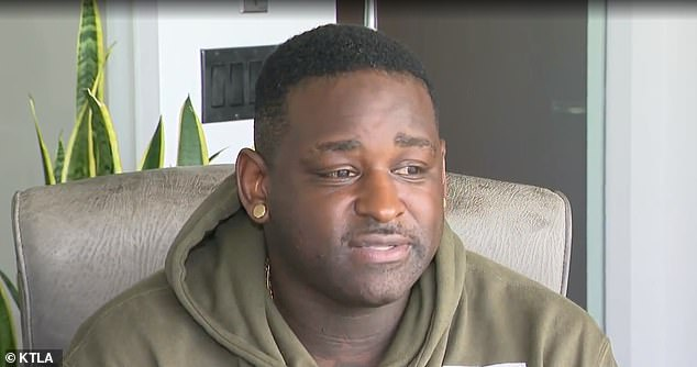 Darnell Hicks, 33, a father-of-two from Compton, California, says he has been getting death threats after being falsely accused on social media of shooting two LA County deputies