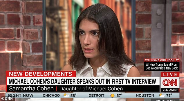 The discovery of the audio comes on the heels of Samantha supporting her father's claims in his new book that Trump made creepy comments towards her when she was just 15 years old