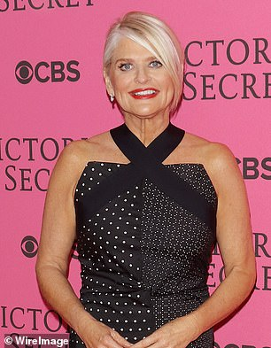 Cohen makes a point to tell the friend he's 'very friendly' with the then-CEO of Victoria's Secret Sharen Jester Turney (pictured), bringing the conversation back to knowing her multiple times.