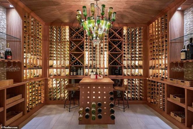 A large-scale cellar was also included when the property was built back in 2012