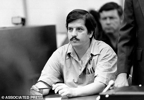 Serial killer William Bonin, who died in 1996, in a file photo from 1983