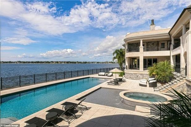 Location, Location, Location: The vast waterfront estate is spread over 1.25 acres of land on Hillsborough Bay