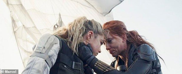 Sisters: Kate Shortland's feminist action flick - set after the events of Captain America: Civil War (2016) - features Robert Downey Jr., Rachel Weisz, William Hurt, David Harbor, Ray Winston, and Florence Pugh (L).