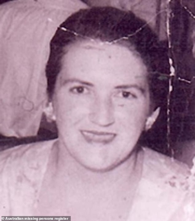 The disappearance of Daphne Pearl Hampstead (pictured) has been solved more than 60 years after she walked out on her husband and eight children. A coroner has found she had moved to Queensland and started several new lives before dying of cancer in 2007 aged 89