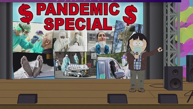 Pandemic Special:South Park will be diving headfirst into the turmoils of the coronavirus pandemic with an hour-long special on September 30