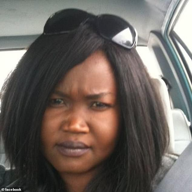 Ms Angok was strangled to death by Bell. Shefought back during the fatal attack and Bell's DNA, from a scratch on his neck, was found under her fingernails