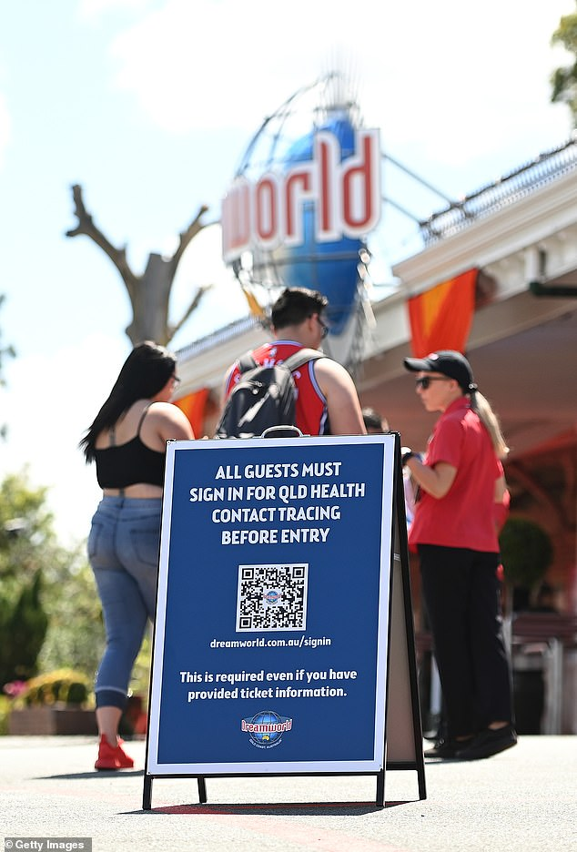 Dreamworld was closed in March, when Australia was feeling the beginning of COVID-19