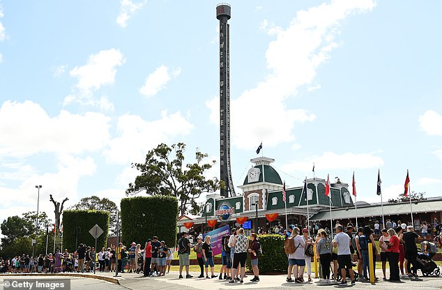 Ardent Leisure says 400 staff returned to work at the Gold Coast theme park on Wednesday after it closed in March due to COVID-19 health restrictions