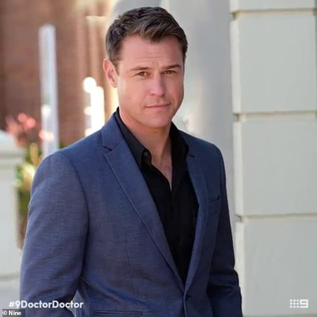 He's back!Popular drama Doctor Doctor, with actor Rodger Corser (pictured), will also return for another season in 2021
