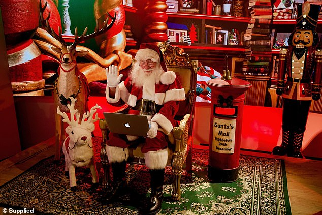 Santa will be speaking directly to excited children from his workshop at the North Pole, offering a magical experience the whole family will be talking about for years to come