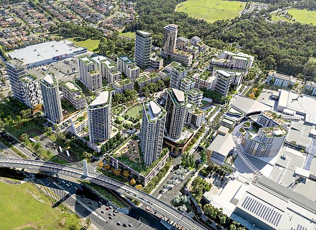 RiskWise chief executive Doron Peleg said a drop in rental prices and buyer demand, as a result of the COVID-19 pandemic, was also a key factor in investors avoiding apartments in oversupplied suburbs (Rouse Hill pictured)
