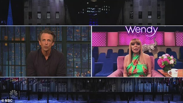 Beloved segment:Asked by Seth whether she would continue doing her beloved 'Ask Wendy' segment, Wendy cracked, 'Ah they'll figure that out. That's what we have producers for. Call in to people, ask 'em some questions, and we'll do ''Ask Wendy'''