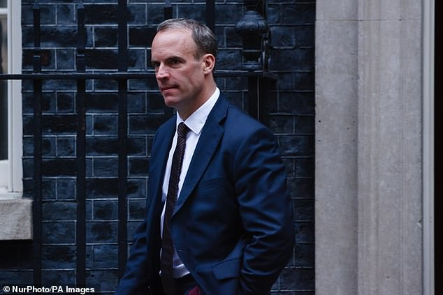 Foreign Secretary Dominic Raab is in Washington today for talks with US counterpart Mike Pompeo and US Speaker Nancy Pelosi with Brexit expected to feature heavily
