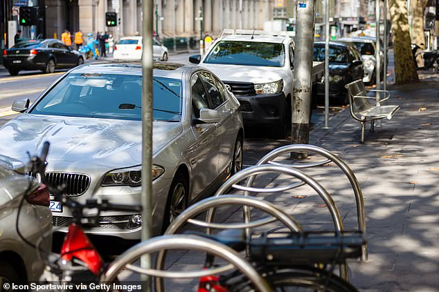Ombudsdam Deborah Glass said Melbourne City of Council parking officials were 'overly rigid' in their handling of the parking fines (pictured: street parking returned to full capacity in May in Melbourne during the COVID-19 pandemic)