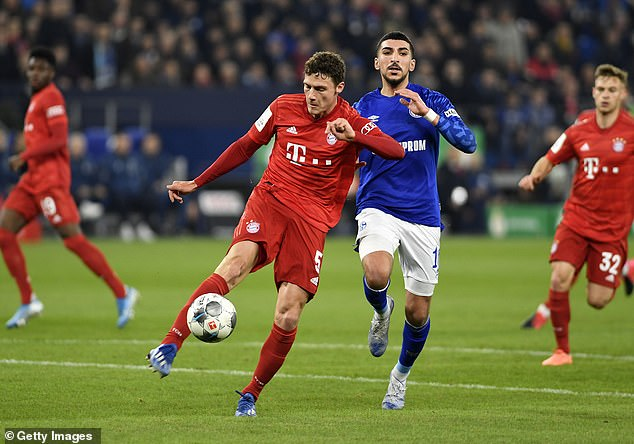 Bayern Munich's home fixture against Schalke is the first Bundesliga game this Friday