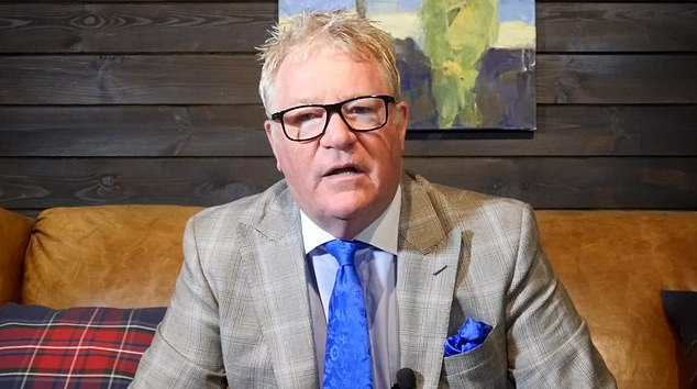 In a follow-up YouTube video called 'Now The News Is Me!', posted today, Jim Davidson (pictured) said: 'I cannot be bullied, shut up or kicked off the TV'