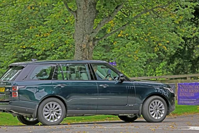 Earlier today, their second eldest son Prince Andrew could be seen leaving the estate amid claims was visiting his 94-year-old mother for 'crisis talks'.