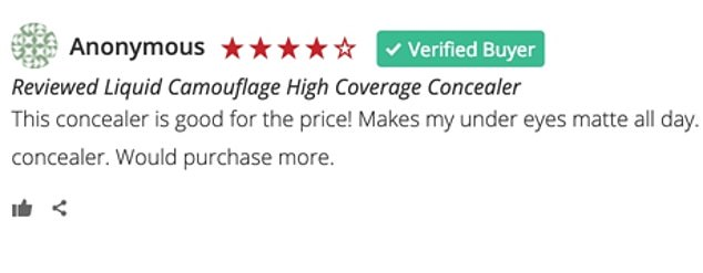 Many shoppers leftfive star reviews insisting the product 'blends nicely' while providing 'high coverage and a matte finish'