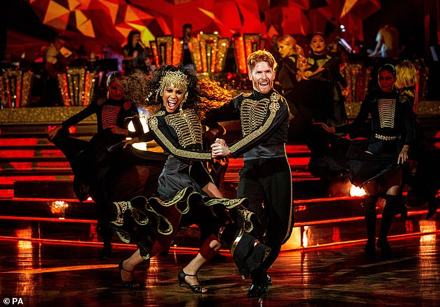 Sad news:Strictly Come Dancing have cancelled its annual Blackpool special due to the COVID-19 pandemic (Alex Scott and Neil Jones from 2019 pictured)