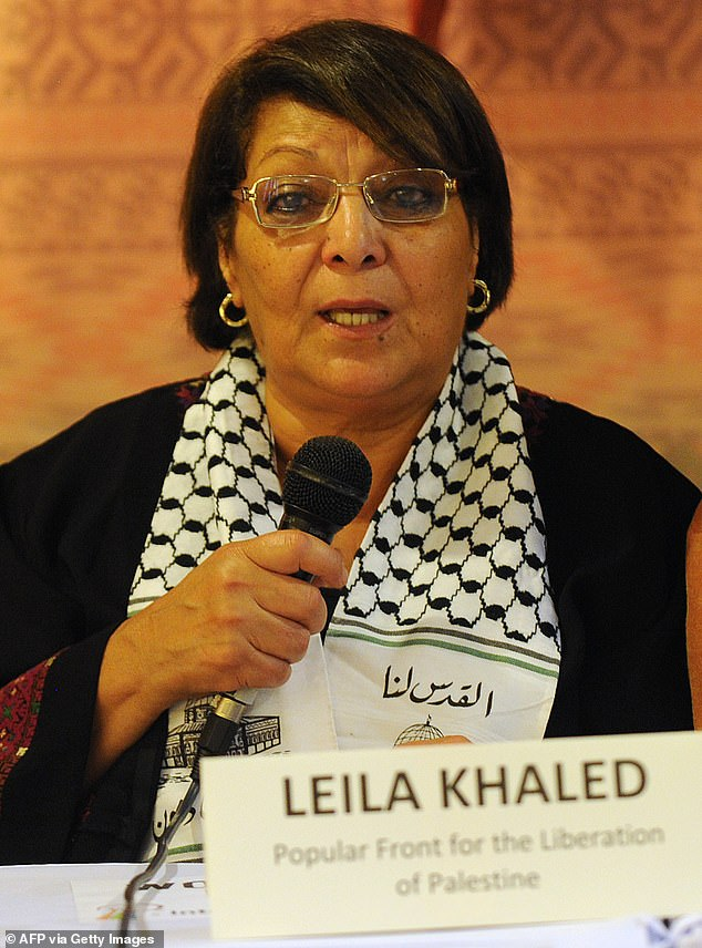 Khaled is a member of the Popular Front for the Liberation of Palestine, which is a group designated by the US Department of State as a terror organization