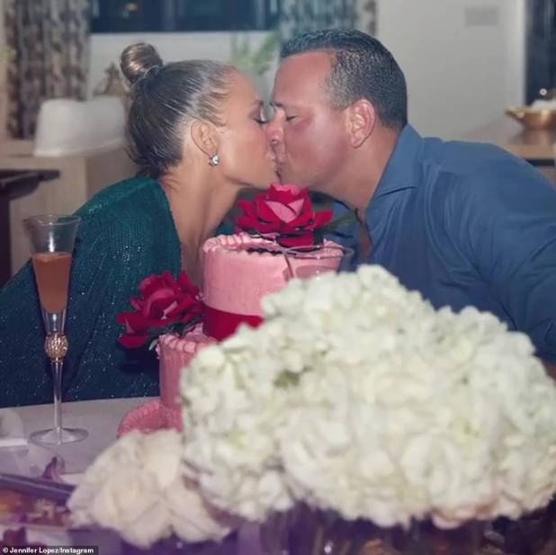 Loved: The couple who married in Italy had to postpone their marriage due to the COVID epidemic.  ARod & JLO announced their engagement for the first time in September 2019