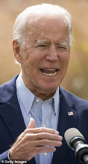Joe Biden is the Democratic presidential candidate and has been previously portrayed by Jason Sudeikis and Woody Harrelson on SNL; pictured inSeptember