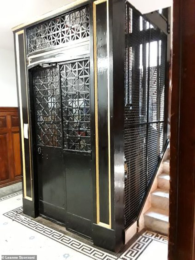 A data report from the Office of Public Safety and Inspections, an inspector found a stop-switch problem with the elevator (pictured) on March 26 during the elevator's annual inspection