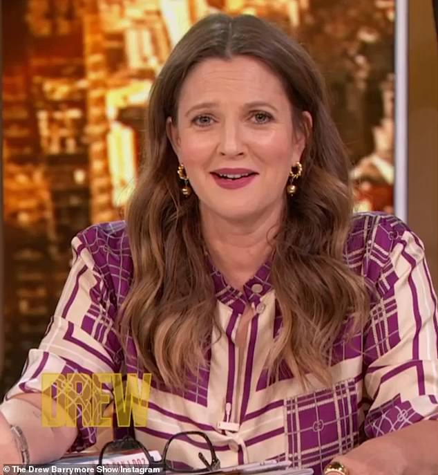 No time for romance: Drew Barrymore said on her talk show on Wednesday that she has had no romance in the past five years because she cannot open up