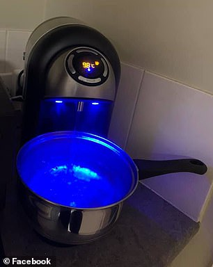 The product comes just one month after Kmart launched its $79 gadget that rapidly heats two litres of water in three to five seconds