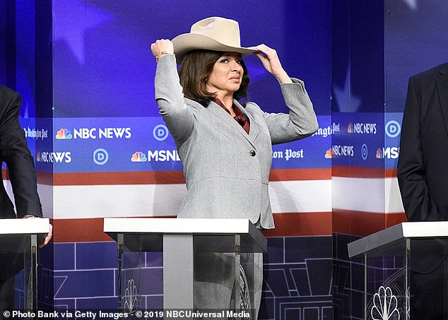 Back for more: Maya Rudolph, who left the show full-time in 2007, is expected to appear more playing vice presidential candidate Sen. Kamala Harris. She was snapped in NYC last year